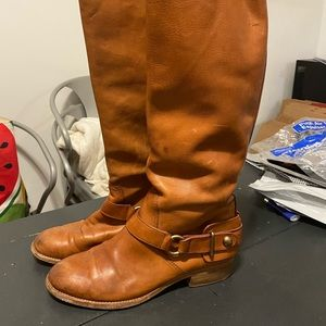 Coach Brown Riding Boots